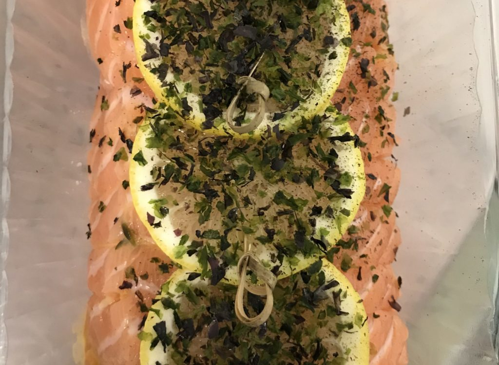 Rôti saumon cabillaud